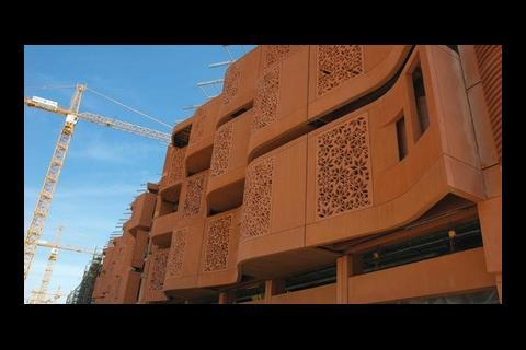 Masdar in Abu Dhabi: the world's first zero-carbon city